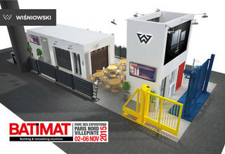 Wiśniowski Brand Products will be featured at Batimat in Paris!