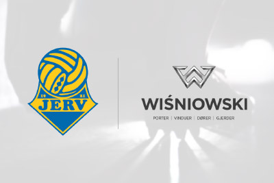 Wiśniowski became a new partner of the FK JERV football club