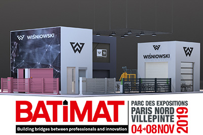 Come meet us at the BATIMAT trade fair this autumn