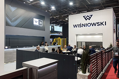 WISNIOWSKI at BATIMAT in Paris