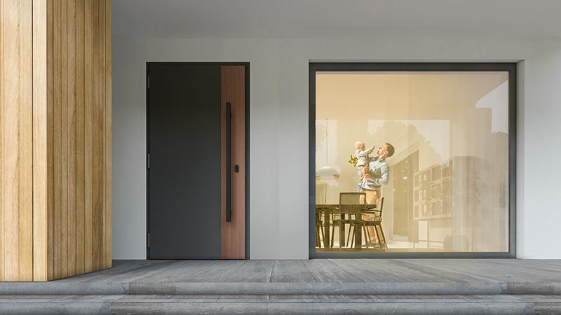 Drzwi wejściowe NOVA dla ciepłego domu