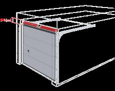 bramy garazowe bramy segmentowe wisniowski nadproze 200mm