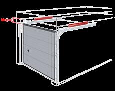 bramy garazowe bramy segmentowe wisniowski nadproze 220mm