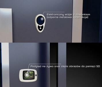 drzwi wejsciowe zewnetrze creo wisniowski elektroniczny wizjer