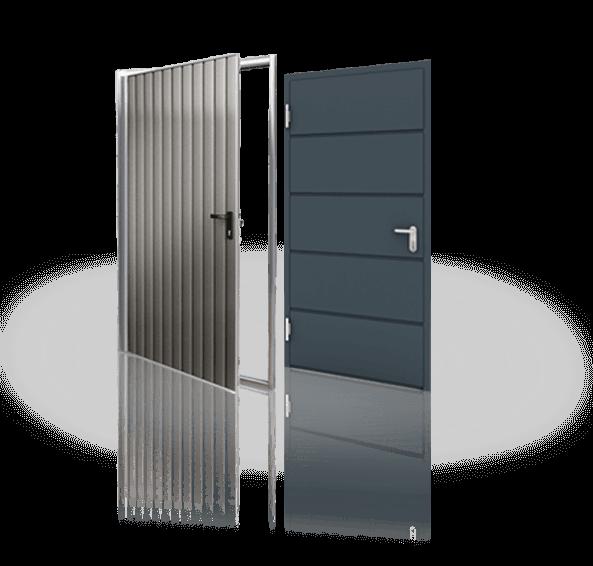 drzwi boczne stalowe