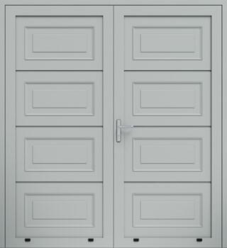 panelowe kasetony dwuskrzydlowe 9006
