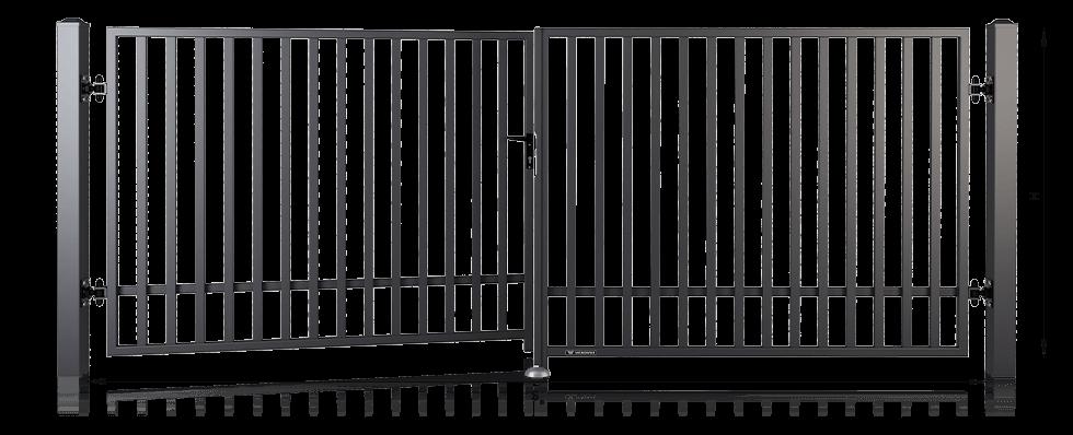 wymiary montazowe brama