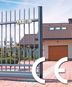 ogrodzenia i bramy bezpieczenstwo znak ce