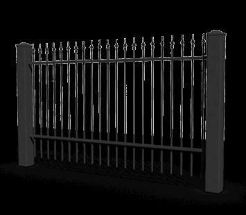 basic aw.10.90 ogrodzenia wisniowski