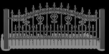 ogrodzenie posesyjne sys lux aw.10.31 wisniowski
