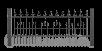 ogrodzenie posesyjne sys lux aw.10.33 wisniowski