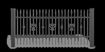 ogrodzenie posesyjne sys lux aw.10.34 wisniowski