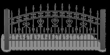 ogrodzenie posesyjne sys lux aw.10.39 wisniowski