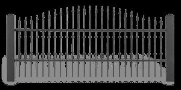 ogrodzenie posesyjne sys lux aw.10.45 wisniowski