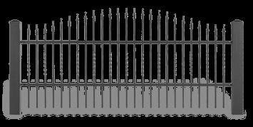 ogrodzenie posesyjne sys lux aw.10.46 wisniowski