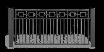 ogrodzenie posesyjne sys lux aw.10.51