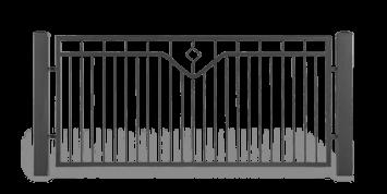 ogrodzenie posesyjne sys lux aw.10.53 wisniowski