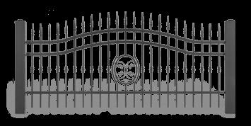 ogrodzenie posesyjne sys lux aw.10.56 wisniowski