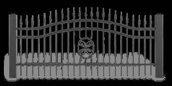 ogrodzenie posesyjne sys lux aw.10.57 wisniowski