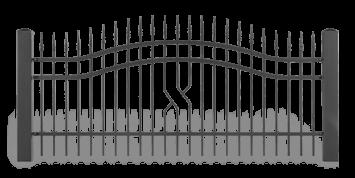 ogrodzenie posesyjne sys lux aw.10.58 wisniowski