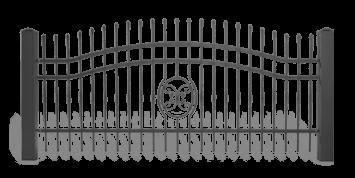 ogrodzenie posesyjne sys lux aw.10.59 wisniowski
