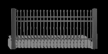 ogrodzenie posesyjne sys lux aw.10.60 wisniowski
