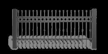 ogrodzenie posesyjne sys lux aw.10.61 wisniowski