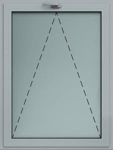 okno alu uchylne wisniowski
