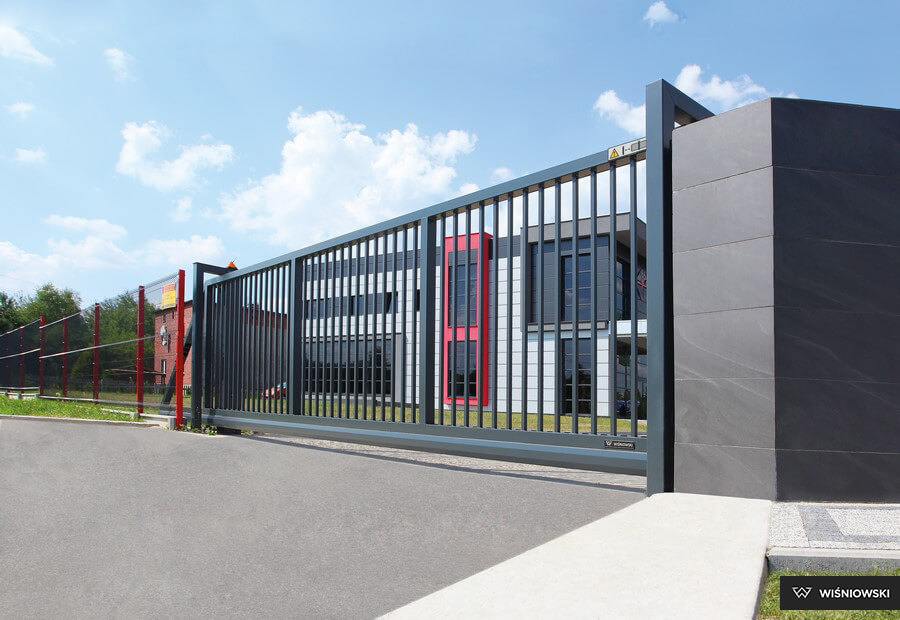 ворота откатные для промышленных объектов каталог