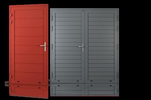 grupa drzwi boczne aluminiowe