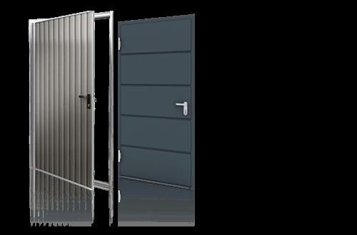 grupa drzwi boczne stalowe