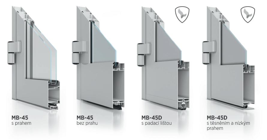narozniki drzwi MB45 MB45D cz