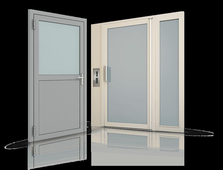 drzwi stalowe profilowe wisniowski