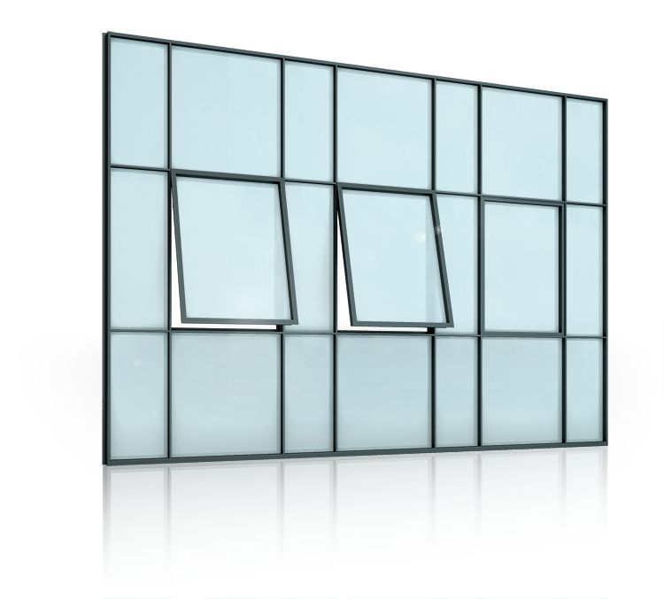Steel windows - WIŚNIOWSKI