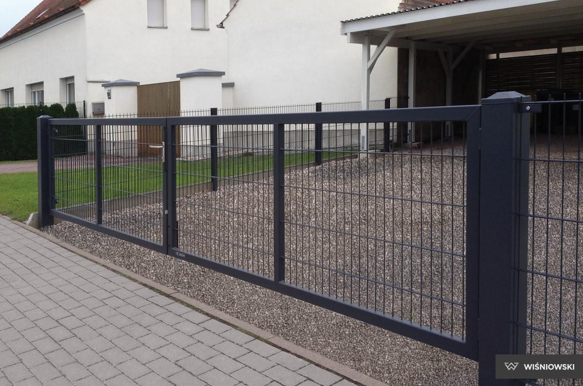 Dimensioni Cancello A Due Ante.Sistema Gardia Wisniowski